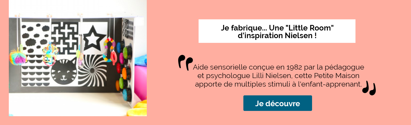 "Je fabrique... Une ""Little Room"" d'inspiration Nielsen !"