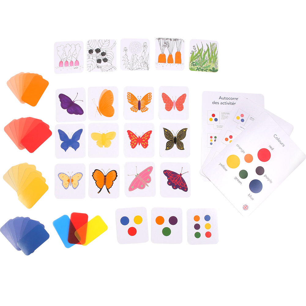 image couleurs montessori