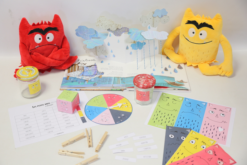 Kit D Activites La Couleur Des Emotions Hoptoys