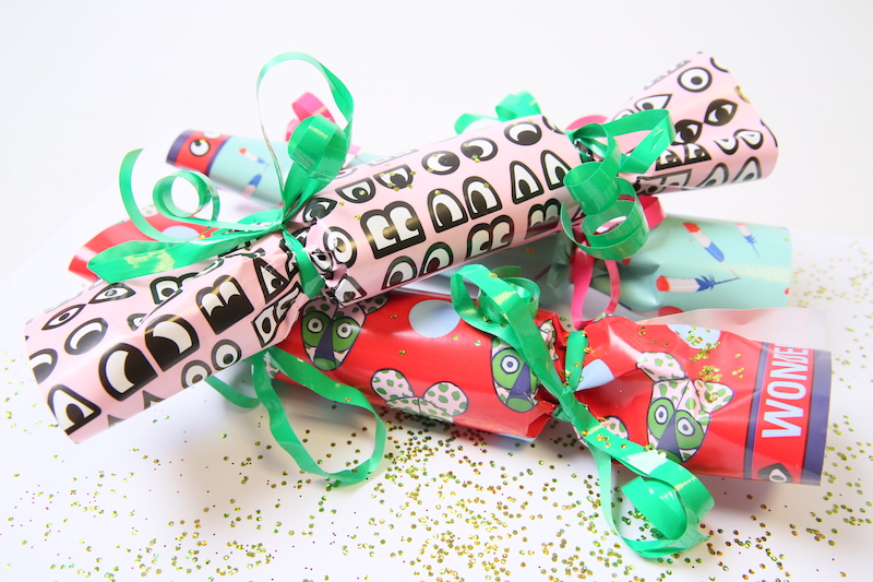 crackers réveillon DIY